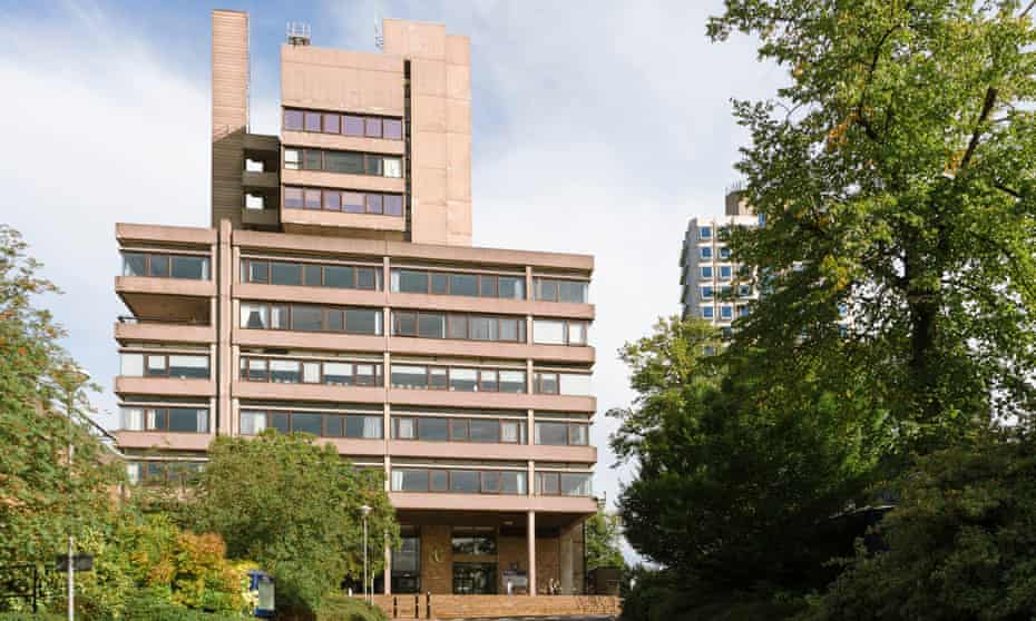 Charles Wilson Building at University of Leicester