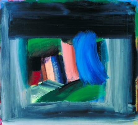 'What a fantastic artist' … Howard Hodgkin's Rain.