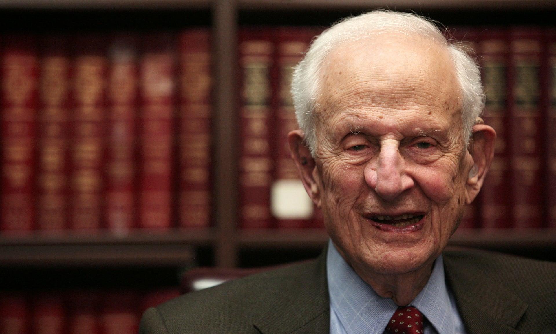 Robert Morgenthau dies at 99