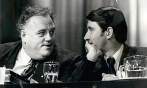 Cyril Smith, left, and David Steel in 1978.