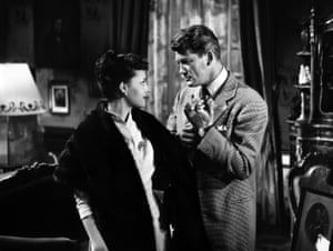 Jeanne Moreau and Jean Marais in Julietta, 1953