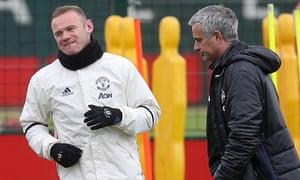 Wayne Rooney, José Mourinho