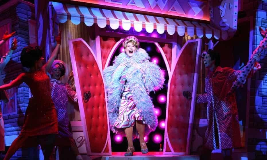 As Edna Turnblad in Hairspray.