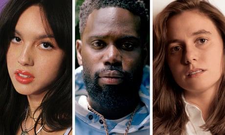 'The more I listen to it, the more satisfaction it gives me' ... (L-R) Olivia Rodrigo, Ghetts, Julien Baker.