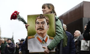 A celebration of Stalin's birthday, Moscow 2015.