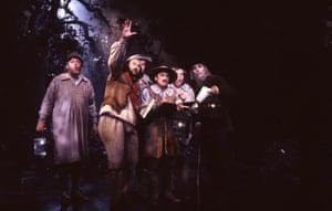 Mechanicals, 1989: Bottom: Curt Appelgren, Quince: Roger Bryson, Flute: John Graham-Hall, Snug: Andrew Gallacher, Snout: Adrian Thompson, Starveling: John Hancorn