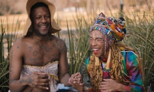 Mykki Blanco (left) in the documentary Out of This World.
