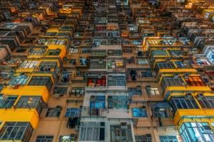 Yick Cheong Building. Quarry Bay, Hong Kong Island.
