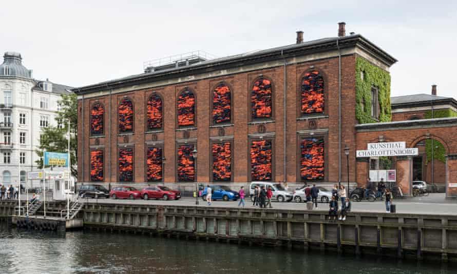 Soleil Levant, 2017 (installation view at Kunsthal Charlottenborg)