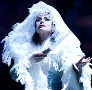 Sally Dexter as the White Witch in The Lion, the Witch and the Wardrobe @ Kensington Gardens. Directed by Rupert Goold (2012).