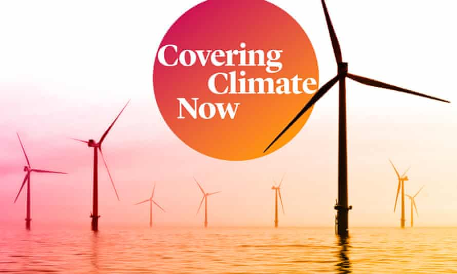 'The planet is burning. It's time for journalism to recognize that the climate emergency is here.'