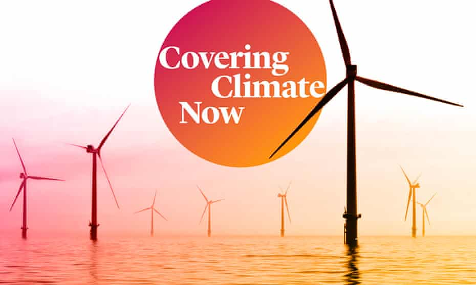 The media organizations involved in Covering Climate Now have a combined reach of more than a billion people