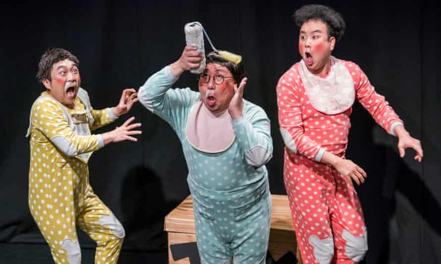 Babbling Comedy by Ongals at Soho theatre, London.