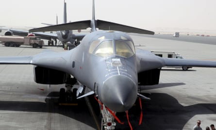 US B-1 bomber