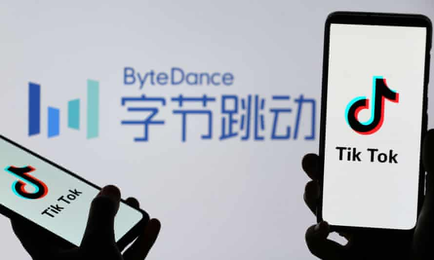 The US government has opened a national security review of TikTok's owner Beijing-based ByteDance technology company.