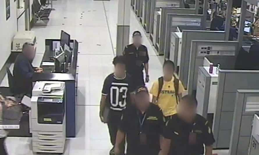 Brothers stopped at Sydney airport