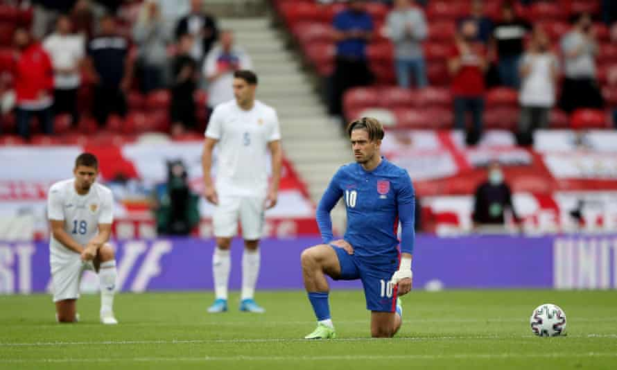 England's Jack Grealish, before the friendly against Romania in Middlesbrough.
