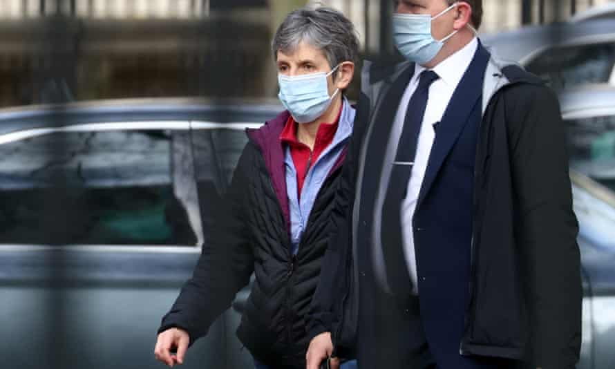 Cressida Dick arrives at New Scotland Yard in London on Monday