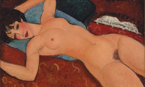 Modigliani's Reclining Nude sold for $170.4m at Christie's in New York