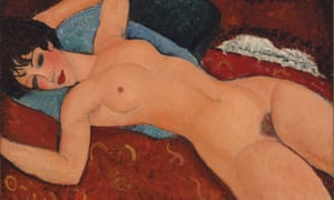 One of Modigliani's reclining nudes.