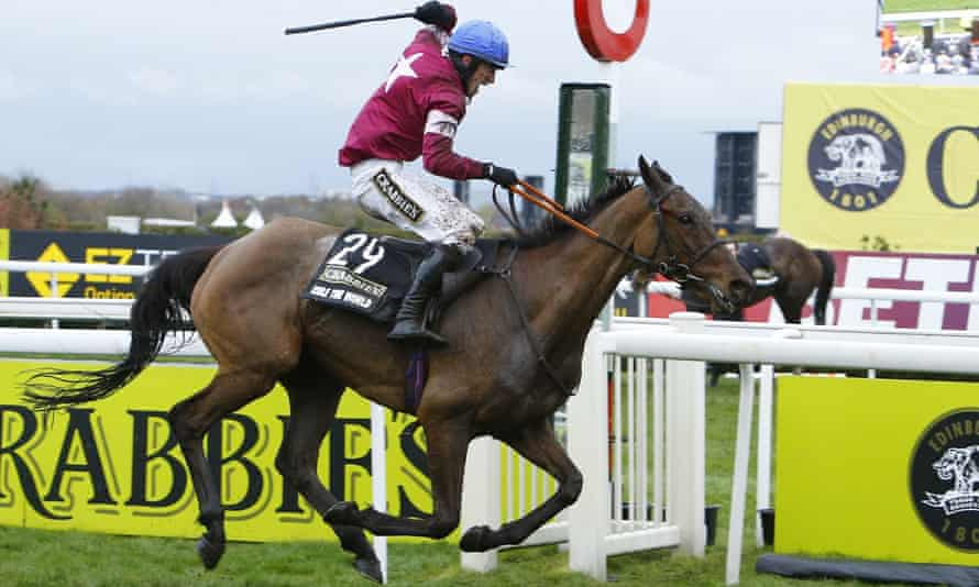 Grand National: 10 million viewers watched Rule the World win.