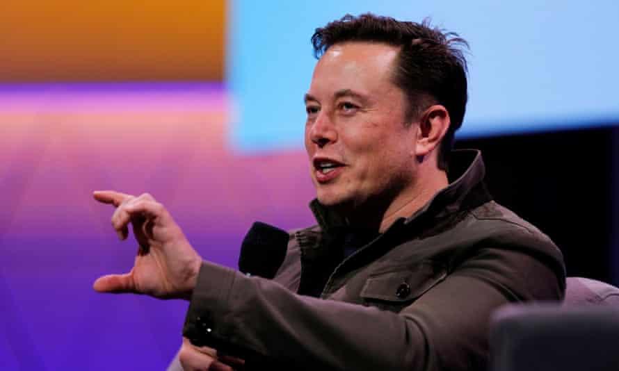 Elon Musk in Los Angeles, California, on 13 June.