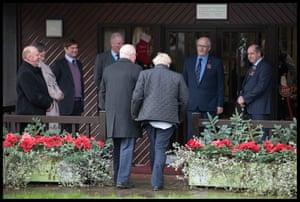 Johnson visits the Royal Welsh Showground, in Llanelwedd, Builth Wells, November 25