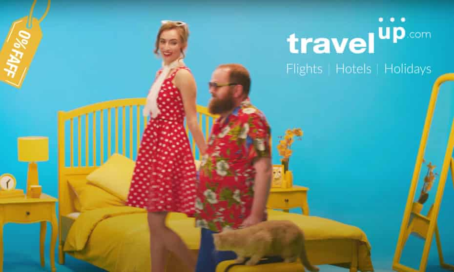 TravelUp ad .