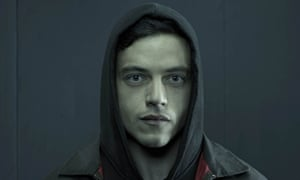 Not so far fetched: Rami Malek in hacker drama Mr Robot