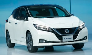 New Nissan Leaf has one-pedal driving mode for both
