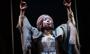 Julia Gilkes Romero's The Whip, about the bailout of British slaveowners in 1833, an RSC production