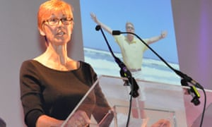 """Sue Duncombe, an ambassador for <a href=""""http://www.cancerresearchuk.org/"""">Cancer Research UK,</a> talks from personal experience about need to sustain funding for medical research."""