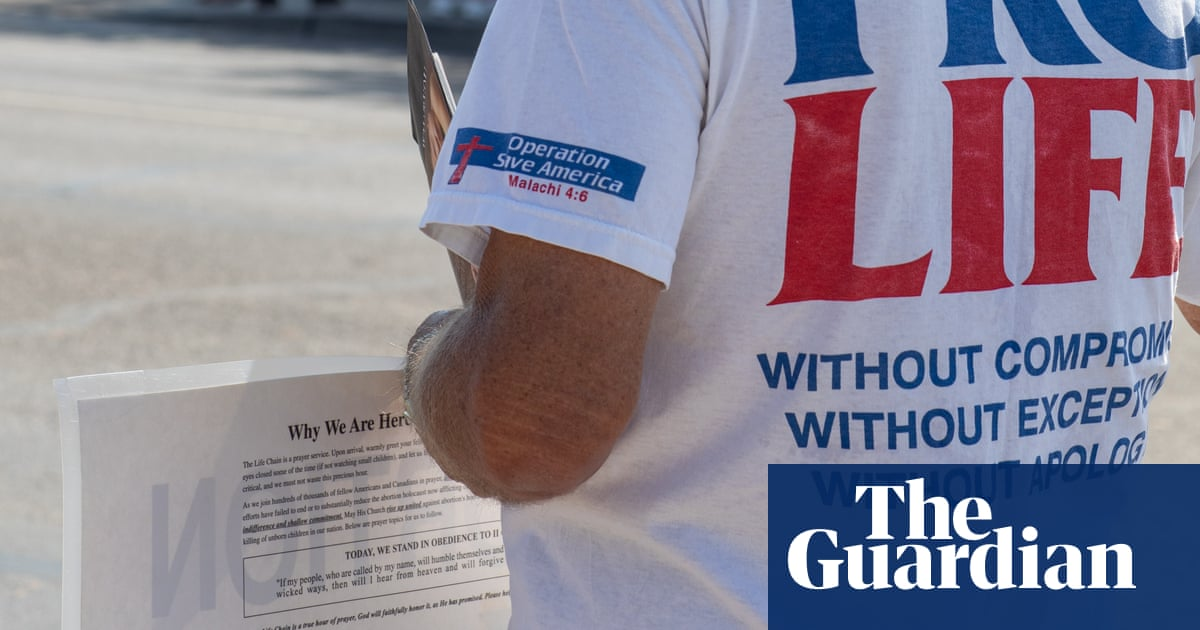 'It shakes you to your core': the anti-abortion extremists gaining ground on the right
