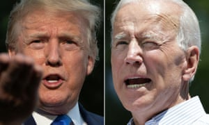 A poll this month showed Donald Trump trailing Joe Biden 55%-40% among registered voters as ratings for his handling of the coronavirus crisis have plummeted.