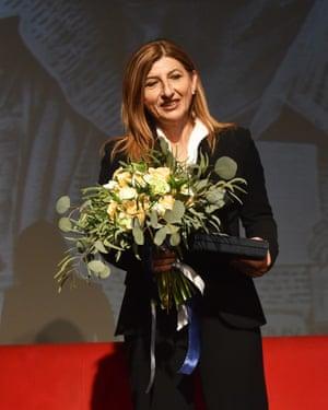 Lampedusa Mayor Giusi Nicolini