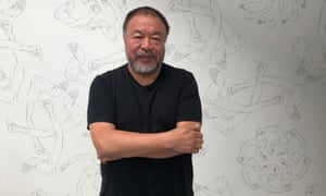 Ai Weiwei at UTA Los Angeles. 'Just be aware that life is special. If we're conscious about it, then things will change.'