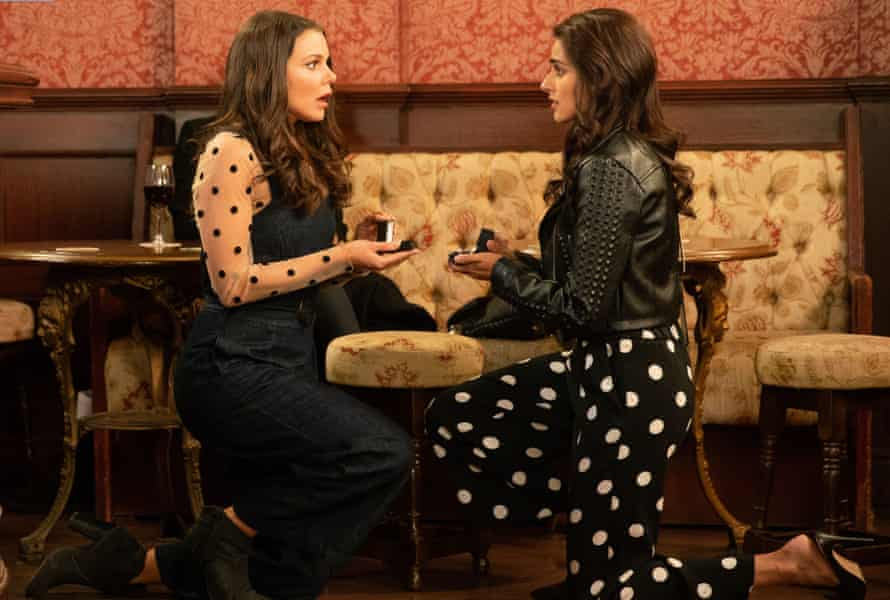 Rana and Kate propose to each other on Coronation Street.
