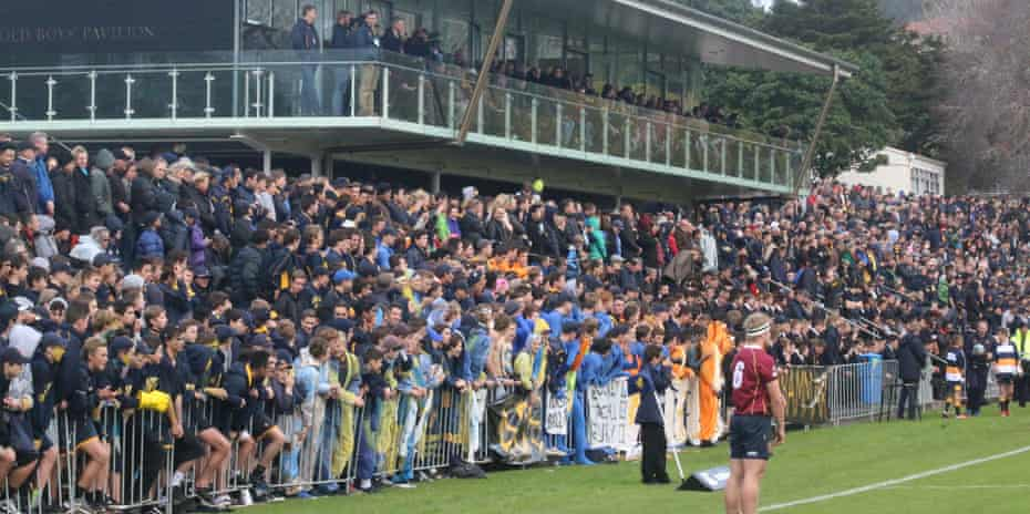 Crowds flock to watch Auckland grammar, which lists Grant Fox, Doug Howlett and Sir Edmund Hillary among its former pupils.