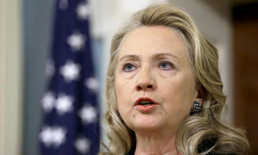 Hillary Clinton in 2012