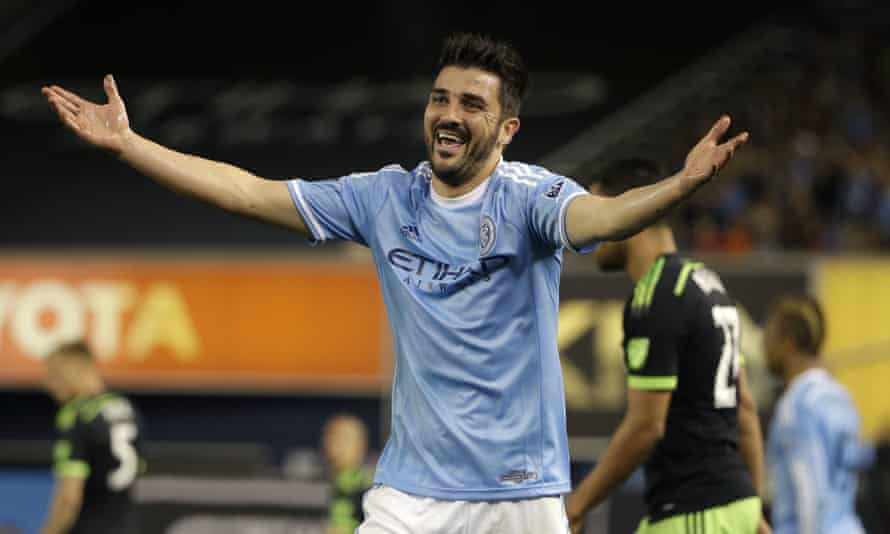 David Villa has scored 41 goals in his two years in New York.