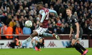 Mbwana Samatta made his Aston Villa debut in the Carabao Cup semi-final second leg against Leicester which Villa won 2-1 to reach Wembley.