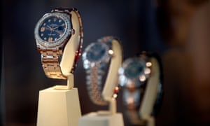 Watches of Switzerland sells brands such as Rolex.