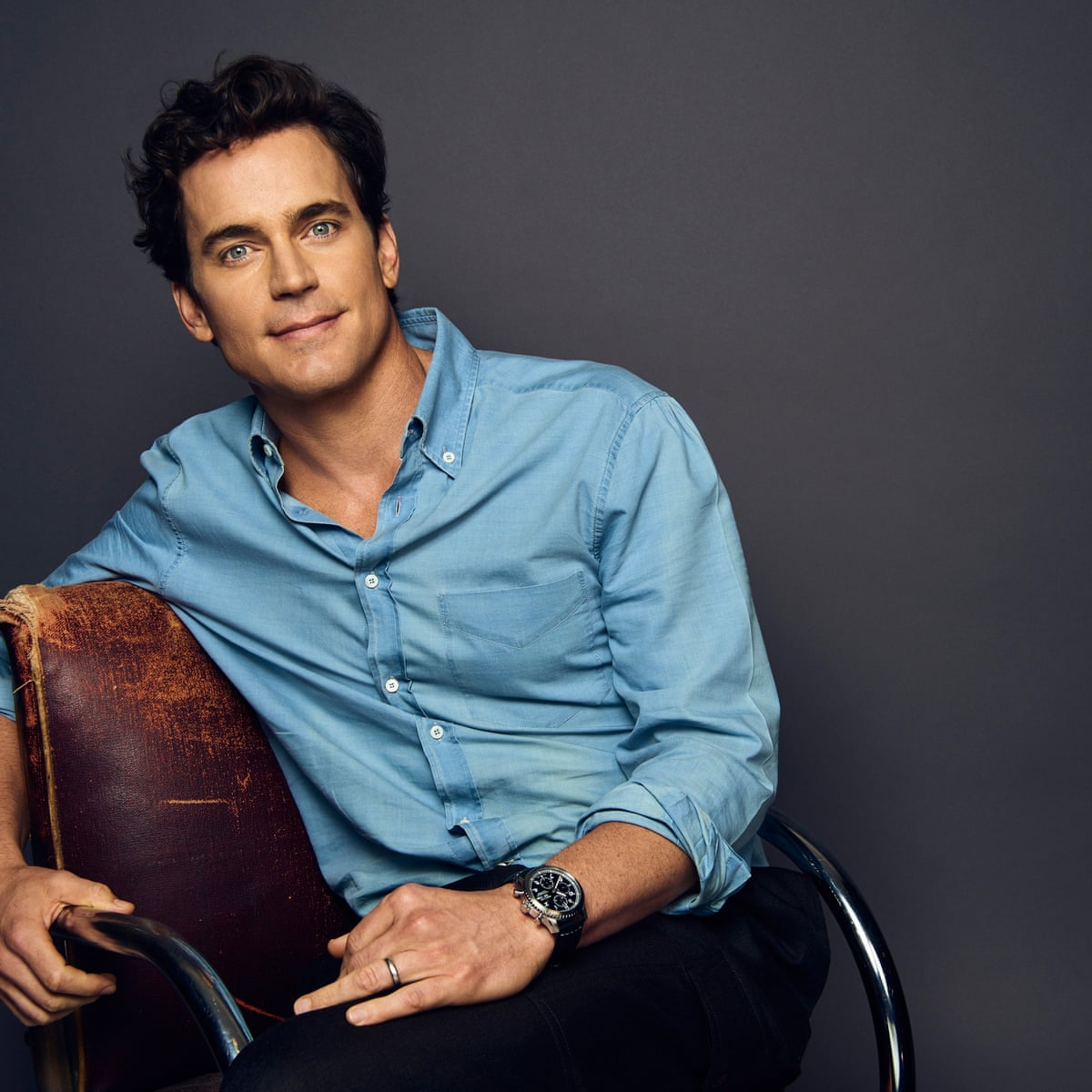 Matt Bomer If Dad Was Really On Fire For The Lord You Knew The Hammer Would Come Down Film The Guardian