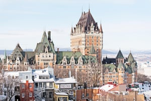 The Château Frontenac  hotel  in Québec City.