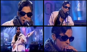 Prince performs The Holy River on the 28 February 1997 edition of Top of the Pops.