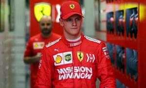 Mick Schumacher hopes to progress through to Formula One