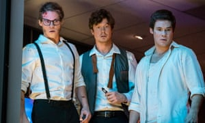 Blake Anderson, Anders Holm and Adam Devine in Game Over, Man!