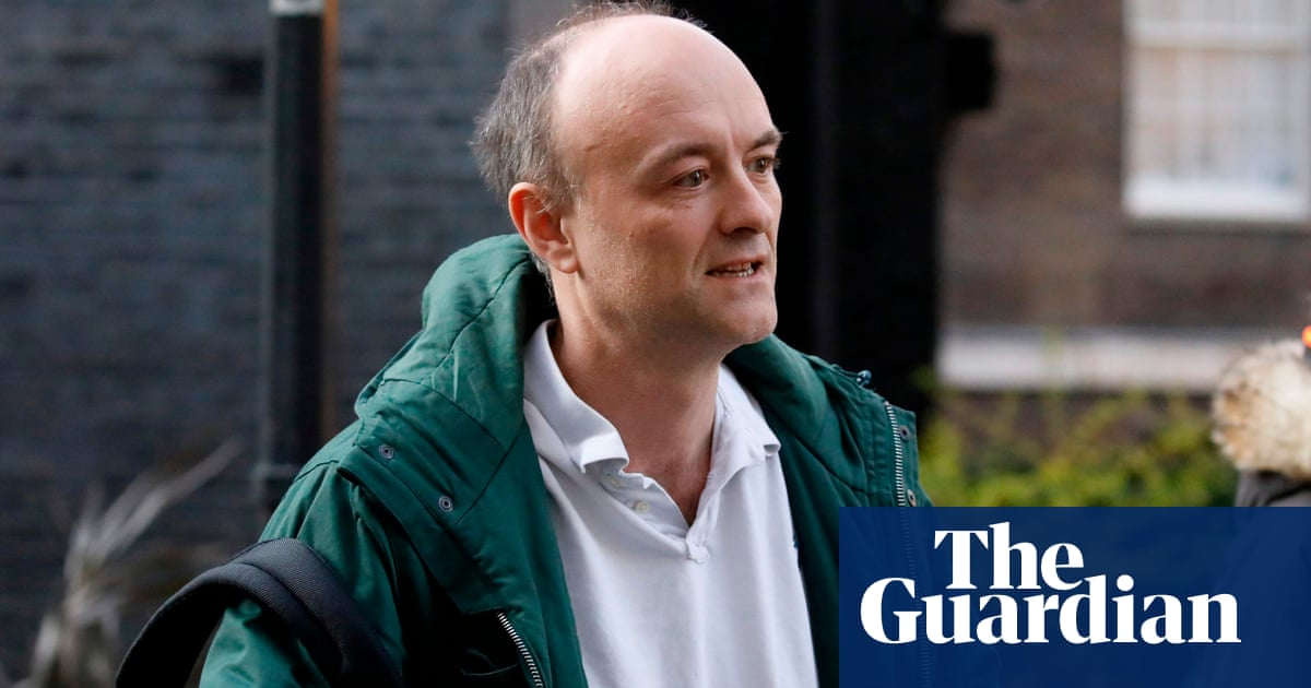 Cummings told officials to bypass procedures on £530k grant to data team, leak reveals