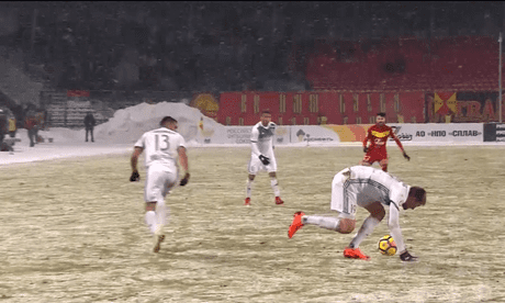 Tempers flare as unsporting behaviour leads to angry scenes in Russia – video