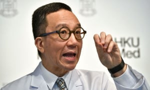 Gabriel Leung, chair professor of public health medicine at the Faculty of Medicine at the University of Hong Kong and WHO Collaborating Centre for Infectious Disease Epidemiology and Control founding director, speaks about the extent of the Wuhan coronavirus outbreak in China, during a press conference in Hong Kong back in January.
